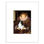 Queen/Japanese Chin Small Poster