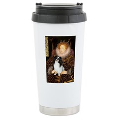 Queen/Japanese Chin Ceramic Travel Mug