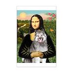 Mona's Keeshond (E) Mini Poster Print