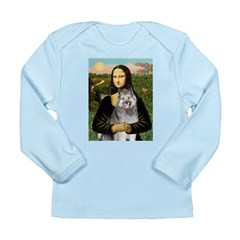 Mona's Keeshond (E) Long Sleeve Infant T-Shirt