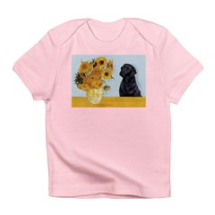 Sunflowers / Lab Infant T-Shirt
