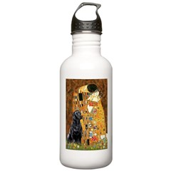 The Kiss & Black Lab Water Bottle