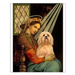 Madonna / Lhasa Apso #9 Small Poster