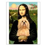 Mona / Lhasa Apso #9 Small Poster