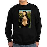 Mona / Lhasa Apso #9 Sweatshirt (dark)