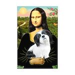 Mona / Lhasa Apso #2 Mini Poster Print