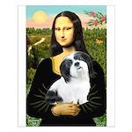 Mona / Lhasa Apso #2 Small Poster