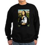 Mona / Lhasa Apso #2 Sweatshirt (dark)