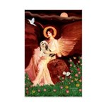 Angel / Lhasa Apso #4 Mini Poster Print