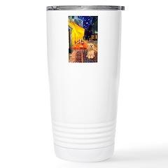 Cafe / Lhasa Apso #9 Stainless Steel Travel Mug
