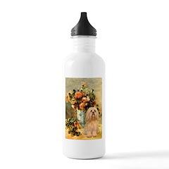Vase / Lhasa Apso #9 Stainless Water Bottle 1.0L