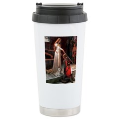 The Accolade & Lhasa Apso Ceramic Travel Mug