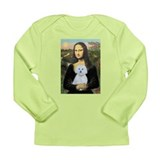 Mona Lisa / Maltese (B) Long Sleeve Infant T-Shirt
