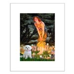 Fairies & Maltese Small Poster