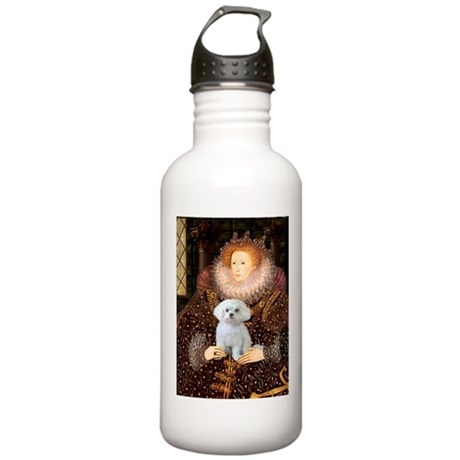 The Queen's Maltese Stainless Water Bottle 1.0L