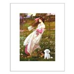 Windflowers / Maltese Small Poster