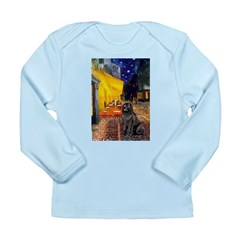 Cafe & Newfoundland Long Sleeve Infant T-Shirt