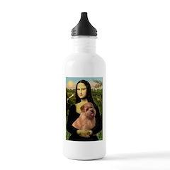 Mona / Norfolk Terrier Water Bottle