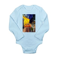Cafe / Nor Elkhound Long Sleeve Infant Bodysuit