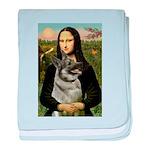 Mona / Nor Elkhound baby blanket