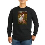 Wind Flowers & Nova Scotia Long Sleeve Dark T-Shir