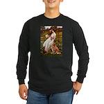 Wind Flowers & Nova Scotia Long Sleeve Dark T-Shir