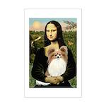 Mona's Papillon Mini Poster Print