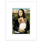 Mona's Papillon Small Poster