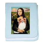 Mona's Papillon baby blanket