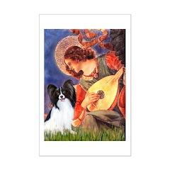 Mandolin Angel & Papillon Mini Poster Print
