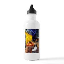 Cafe & Papillon Water Bottle