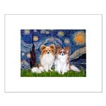 Starry Night & Papillon Small Poster