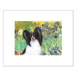 Irises & Papillon Small Poster