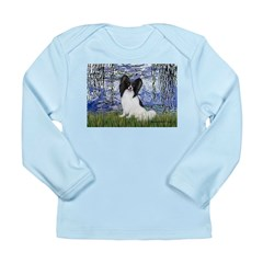 Lilies (#6) & Papillon Long Sleeve Infant T-Shirt