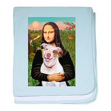 Mona's Pitbull baby blanket