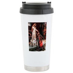 The Accolade / Pitbull Ceramic Travel Mug