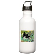 Irises / Pomeranian(bb) Water Bottle