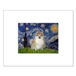 Starry / Pomeranian Small Poster