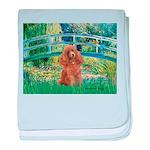 Lily Pond Bridge/Poodle (apri baby blanket