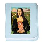 Mona / Poodle (a) baby blanket