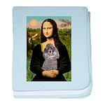 Mona / Poodle (s) baby blanket