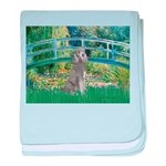 Bridge/Std Poodle silver) baby blanket