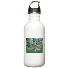 Bridge/Std Poodle silver) Water Bottle