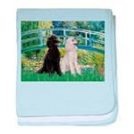 Bridge / Std Poodle (pr) baby blanket