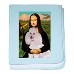 Mona / Std Poodle(w) baby blanket