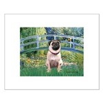 Bridge / Pug Small Poster
