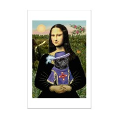 Mona & Sir Pug Posters