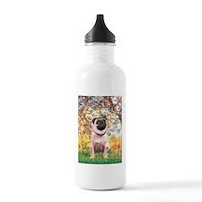 Spring / Pug Water Bottle