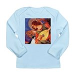 Mandolin / Rat Terrier Long Sleeve Infant T-Shirt