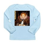 Queen / Rat Terrier Long Sleeve Infant T-Shirt